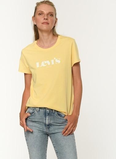 Levi's® Kadın Tişört The Perfect 17369-1260 Sarı